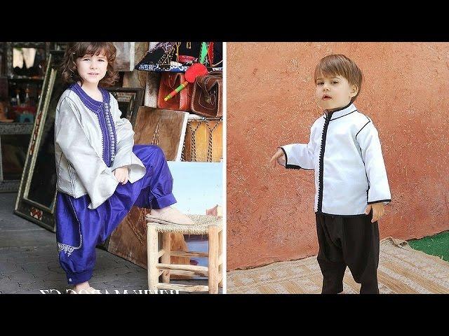0a0b91e8f اللباس التقليدي المغربي للاولاد الصغار روووعة الاطفال 2017 ...