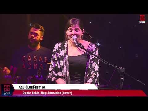 AGÜ TV -AGÜ ClubFest'16 -Deniz Tekin-Hep Sonradan (Cover)