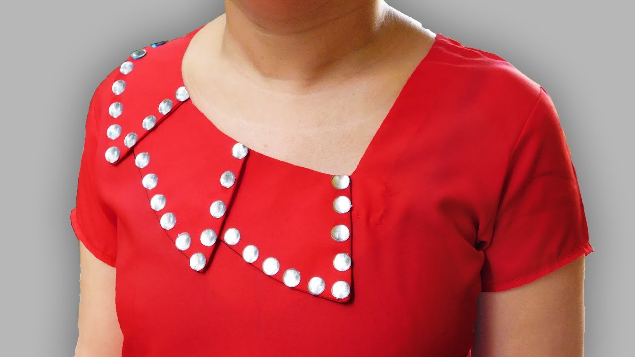 Image result for Collar Style Front Neck Design | Latest Kurti Collar Neck Designs