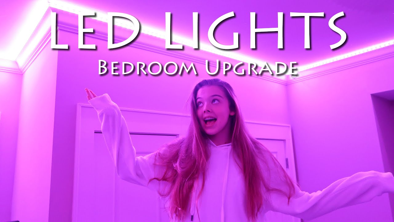 Bedroom Upgrade - LED Lights!  Whitney Bjerken