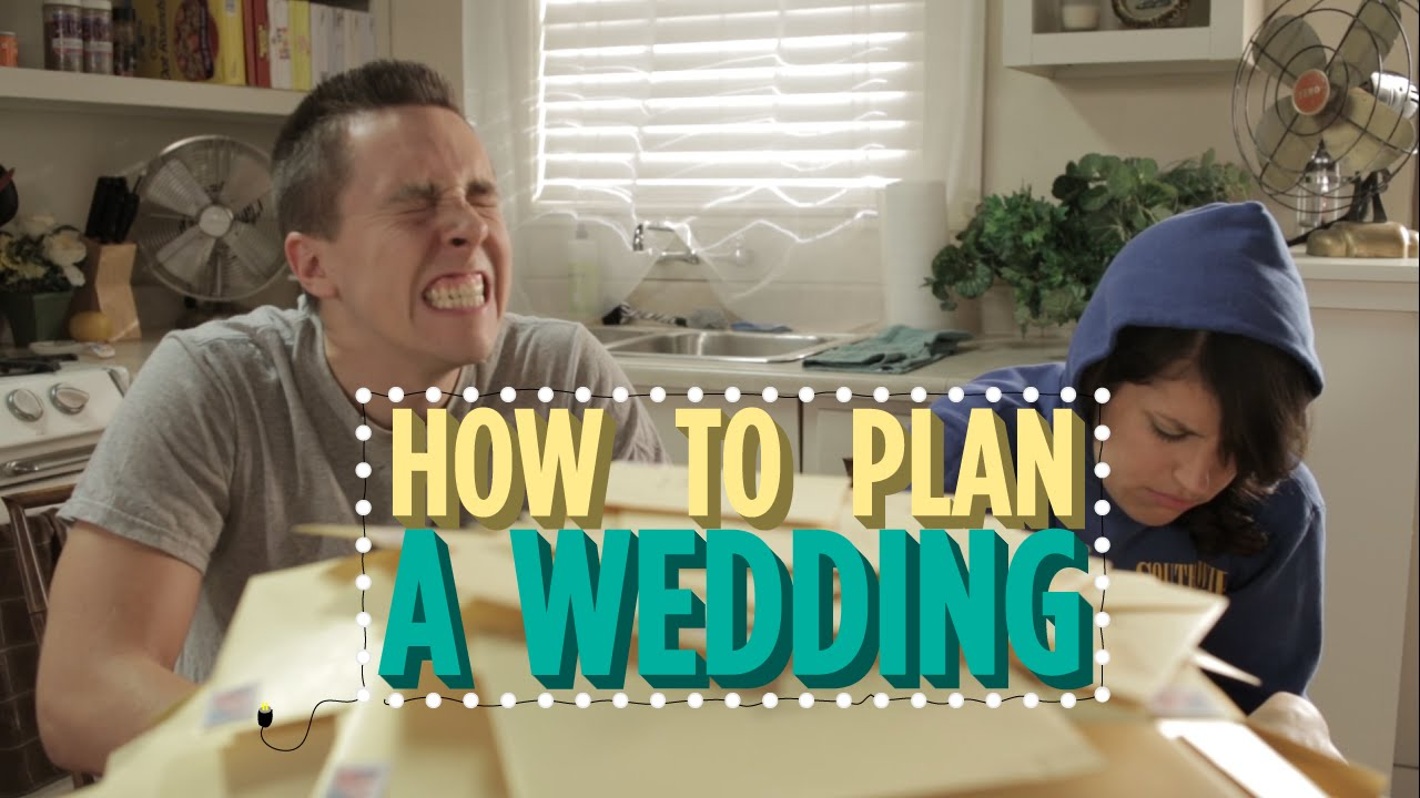 how to plan a wedding in 10 steps the honest version youtube