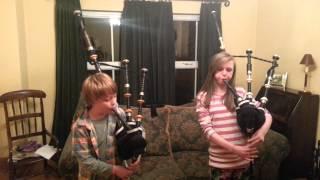 Nathan and Samantha play Balmoral