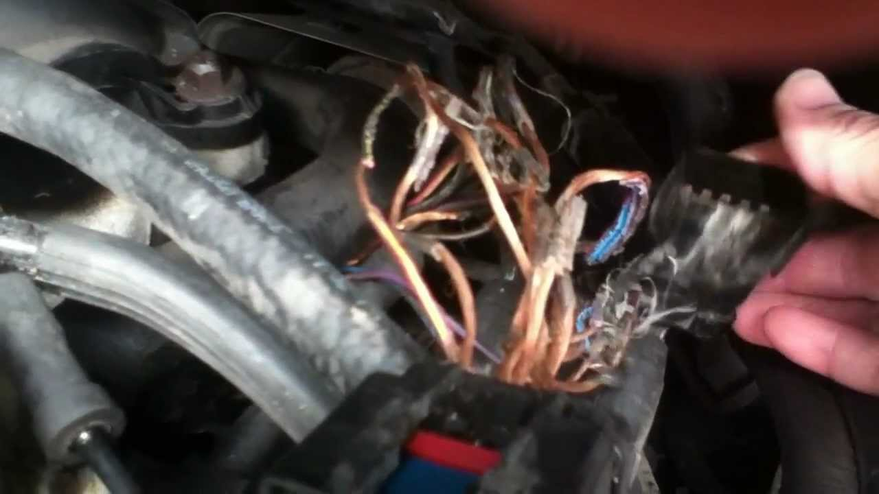 img 16641 youtube dodge caravan wiring harness melted Dodge Caravan Wiring Harness #3