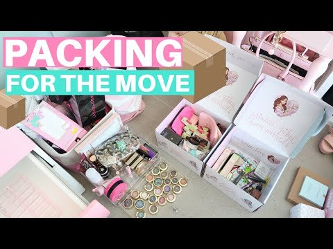 PACKING FOR THE BIG MOVE!🏡📦💕 SLMissGlamVlogs🏡💕