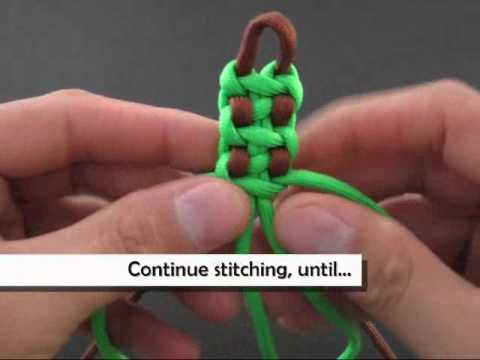 "How to Make a ""Caterpillar Footed"" Solomon Bar (Bracelet) by TIAT"