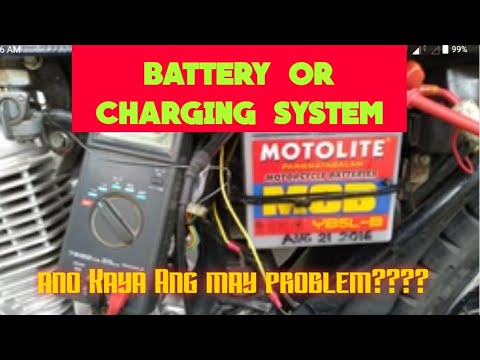Смотреть Battery or charging system problem Ng motor онлайн