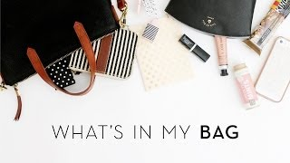 What's in my Bag | Summer 2014