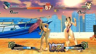 Ultra Street Fighter IV Poison vs Chun Li PC Mod