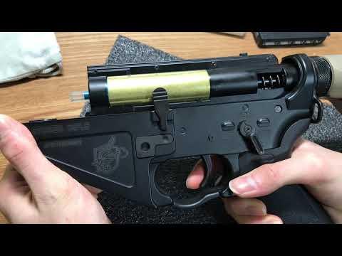 格安FCU 電子トリガー セミオート 4点バースト cyma SR47