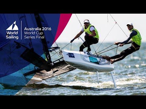 Sailing World Cup Melbourne Final - Medal Races - RS:X, 49er, Nacra 17, Kiteboarding