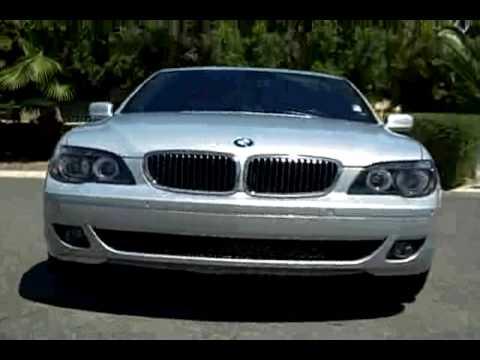 BMW Series Li Sedan YouTube - 2007 bmw 750il