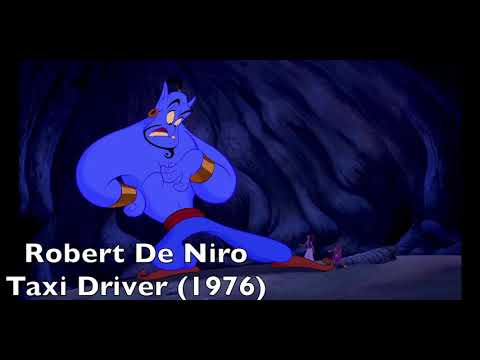 Robin Williams Impressions as Genie