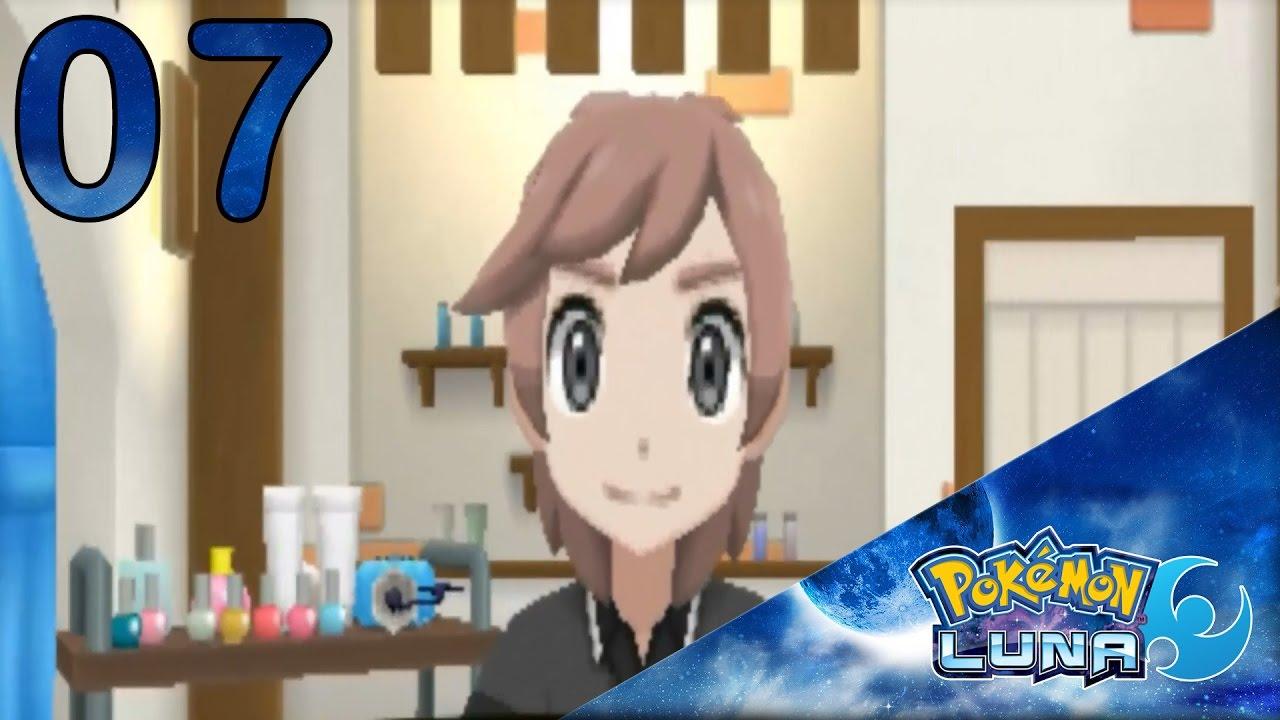 Elegante peinados pokemon sol Colección De Consejos De Color De Pelo - Pokémon Luna Ep.7 | NOS VAMOS DE PELUQUERÍA | - YouTube