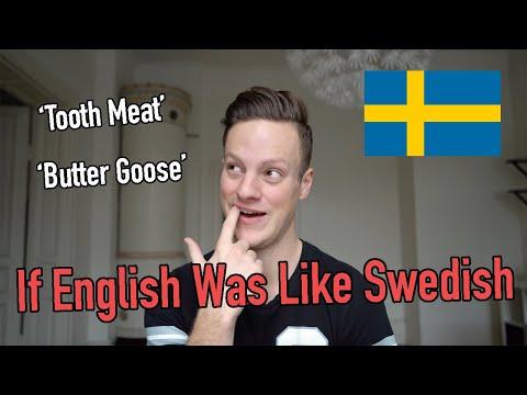 If English was like Swedish (Literal Translations)