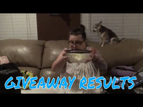 GIVEAWAY RESULTS