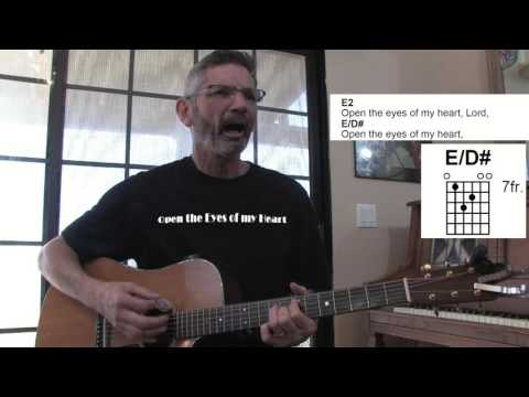 Open The Eyes Of My Heart chords by Phillips, Craig & Dean - Worship ...