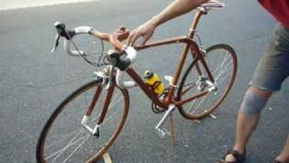 Japanese Mahogany Bicycle From SANO MAGIC