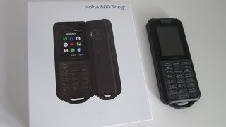Nokia 800 Tough Mobile Phone Cell Phone Review, New Nokia 2019. Builders/ Sports Phone.