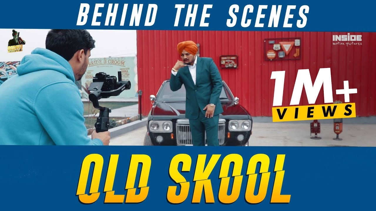 Old Skool | Official Behind The Scenes | Sidhu Moosewala | Inside Motion Pictures | 2020