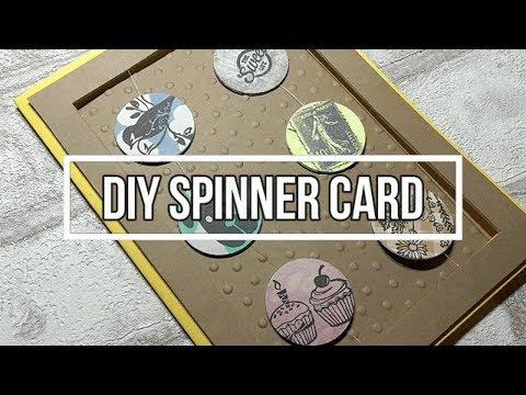 Throwback Thursday - DIY 90s POGS Spinner Card