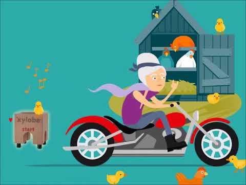 Meine Oma Fährt Im Hühnerstall Motorrad Strophen