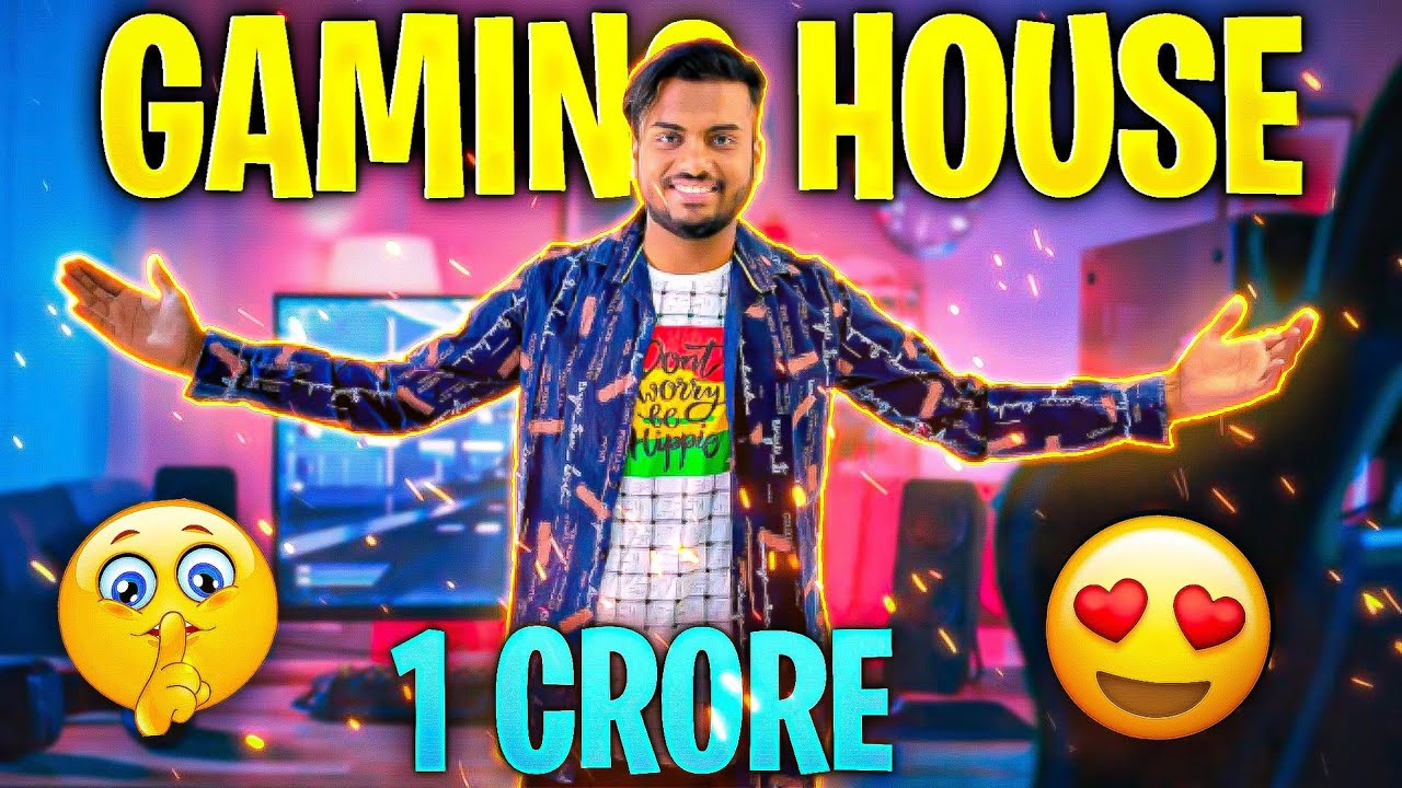 Revealing 1 Crore Gaming House ? In Ahmedabad Vlog - 1 Assassinsarmy × Force 1 - Garena Free Fire