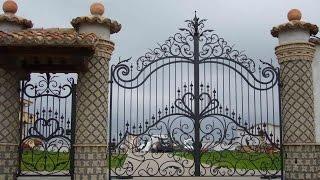 Ворота кованные под заказ(Ворота: дизайн, изготовление, монтаж http://mtstudio.all.biz В настоящее время популярность кованых изделий растет...., 2014-09-18T13:43:28.000Z)