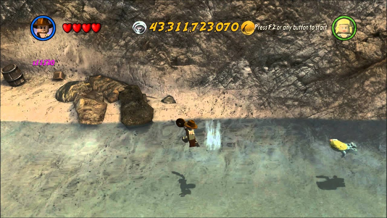 Crazy Lego Indiana Jones 2 Glitch 1080p Youtube