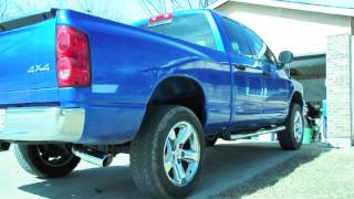 2007 dodge ram 1500 hemi with magnaflow performance exhaust 16699 before after