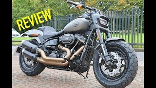 2018 Fat Bob 114 ci Review - Harley Davidson