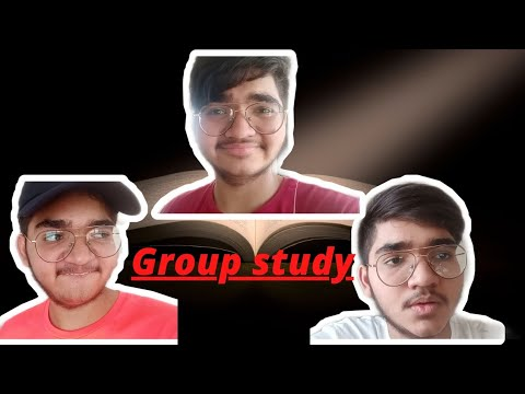 Group study || social media distraction || how to make your friend mad  || vik snow