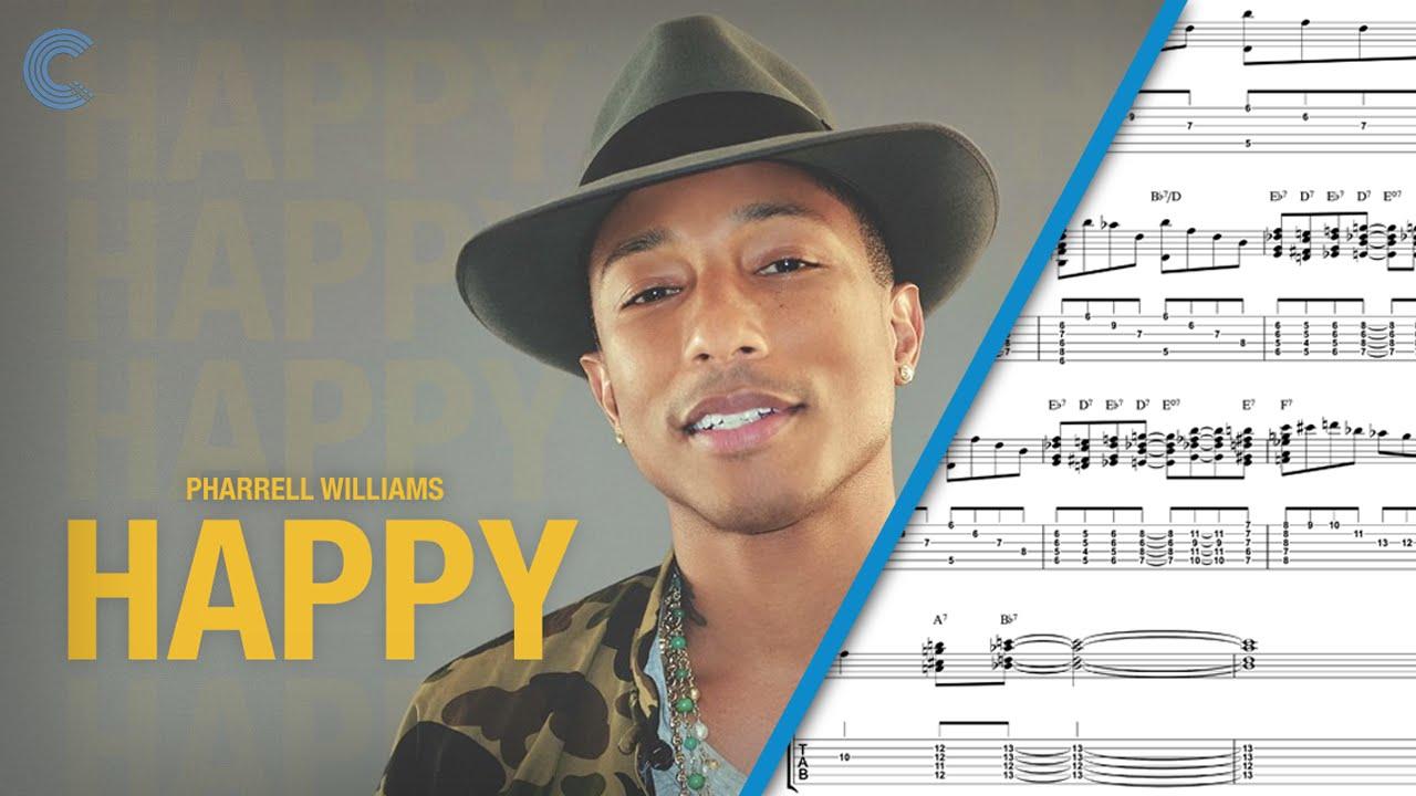 happy pharrell williams sheet music pdf