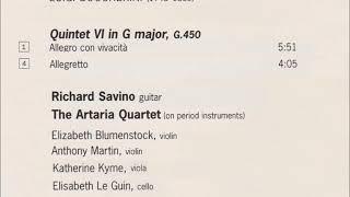 ボッケリーニ ギター五重奏曲第6番第1&4楽章 サヴィーノ(G)アルタリアQ.