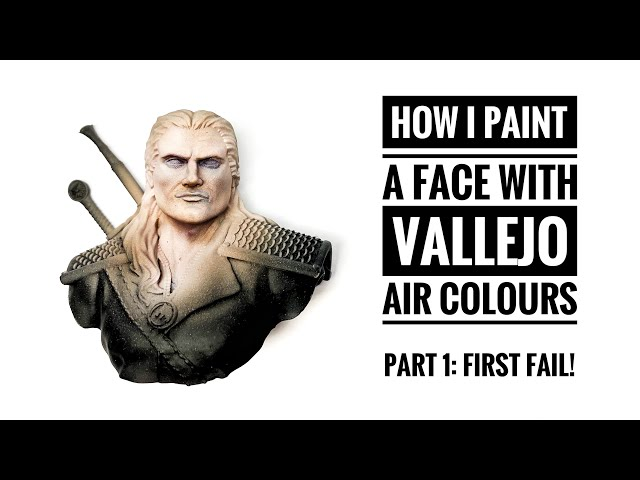 How do i paint a face with the VALLEJO 72.865 GAME AIR Set? PART 1: To much highlights...