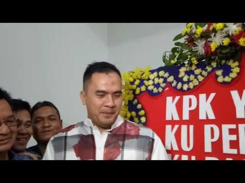 Saipul Jamil Dendangkan Lagu Ciptaannya untuk KPK