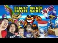 FLUFF FACE SANDWICH Skylanders Family Food Wager 4 Player Battle Mode Repaint Renaming Contest mp3
