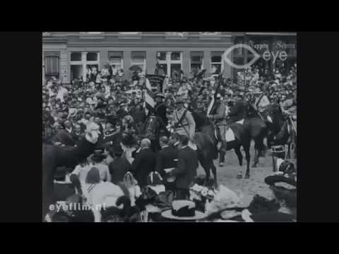 Front: President Paul Kruger in Amsterdam