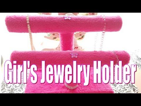 DIY Jewelry Holder for Girls
