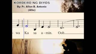 I07b Kordero ng Diyos - by Fr. Allan B. Antonio (Alto)