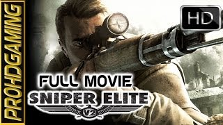 Sniper Elite V2 (PC) I FULL MOVIE I Gameplay/Walkthough [Full HD]