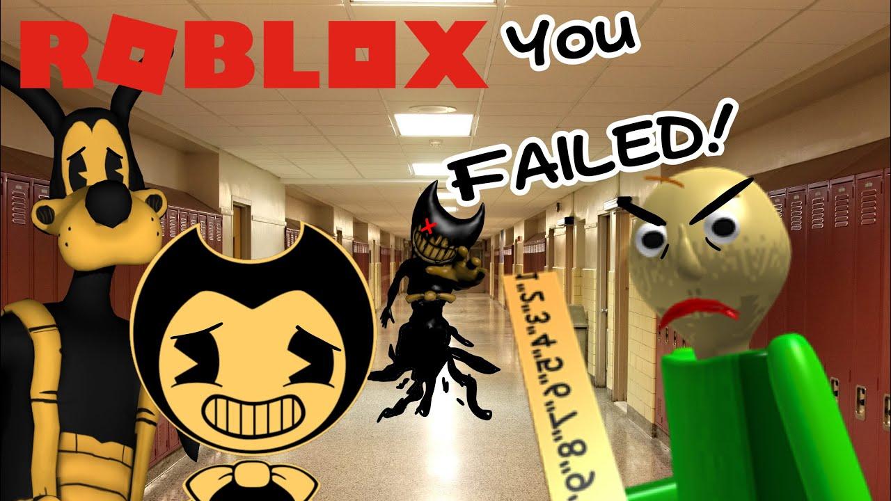 BENDY GOES BACK TO SCHOOL! (BATIM ROBLOX)