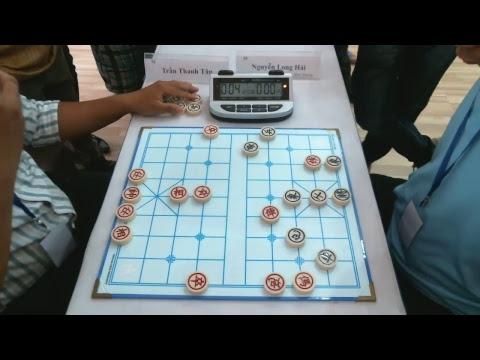 Vòng 6 Trạng Cờ miền Nam: Trần Thanh Tân (HCM) vs Nguyễn Long Hải (HQQ)