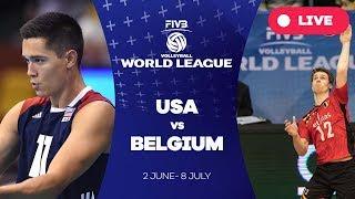 USA v Belgium - Group 1: 2017 FIVB Volleyball World League