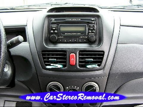 suzuki aerio car radio removal and replacement youtube rh youtube com