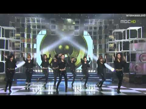 Girls' Generation (SNSD) - Run Devil Run (Live Mix)