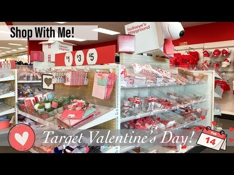 Target Dollar Spot Valentine's Day Shop With Me! ❤️🎯