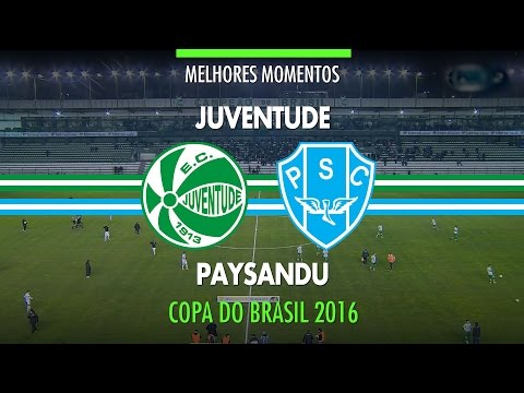 Melhores Momentos - Juventude 0 x 0 Paysandu - Copa do Brasil - 20/07/2016
