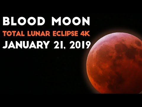 Some Guy Named Tias - Super Blood Wolf Moon Timelapse Footage