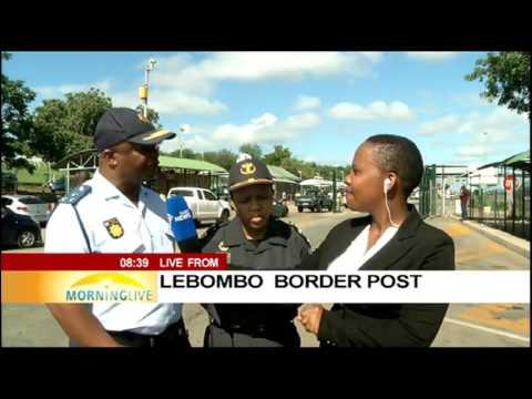 Lebombo Border Post traffic - Siphephile Kunene updates