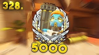 LEVEL 5000..?!?!? | Overwatch Daily Moments Ep. 328 (Funny and Random Moments)